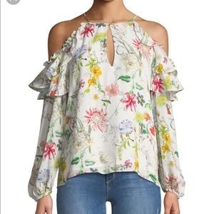 Parker 'Abby Cold Shoulder' Top